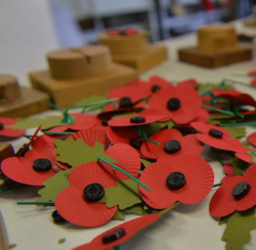 Poppy Factory Visit. @ The Poppy Factory | United Kingdom