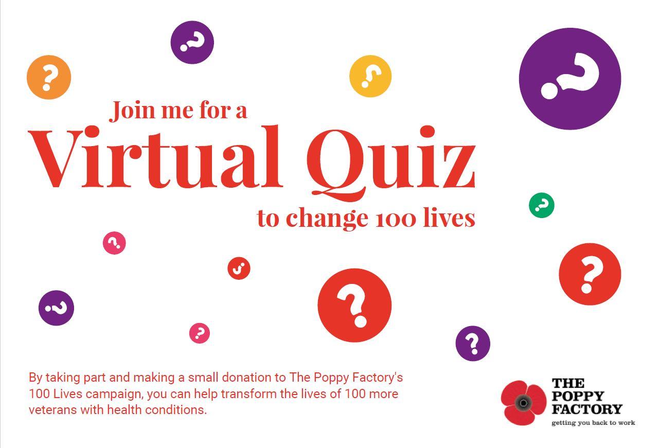 The Poppy Factory 100 Lives quiz