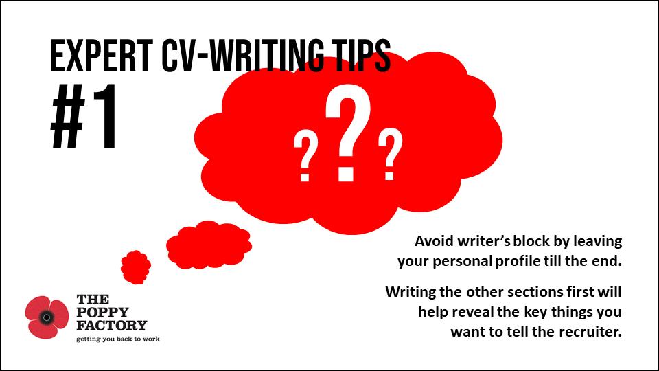 CV writing tips 1