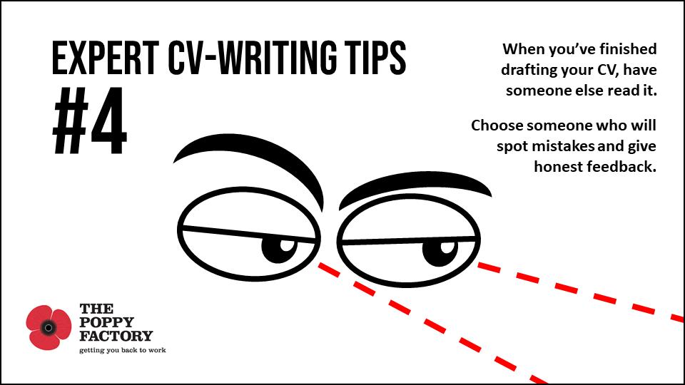 CV writing tips 4