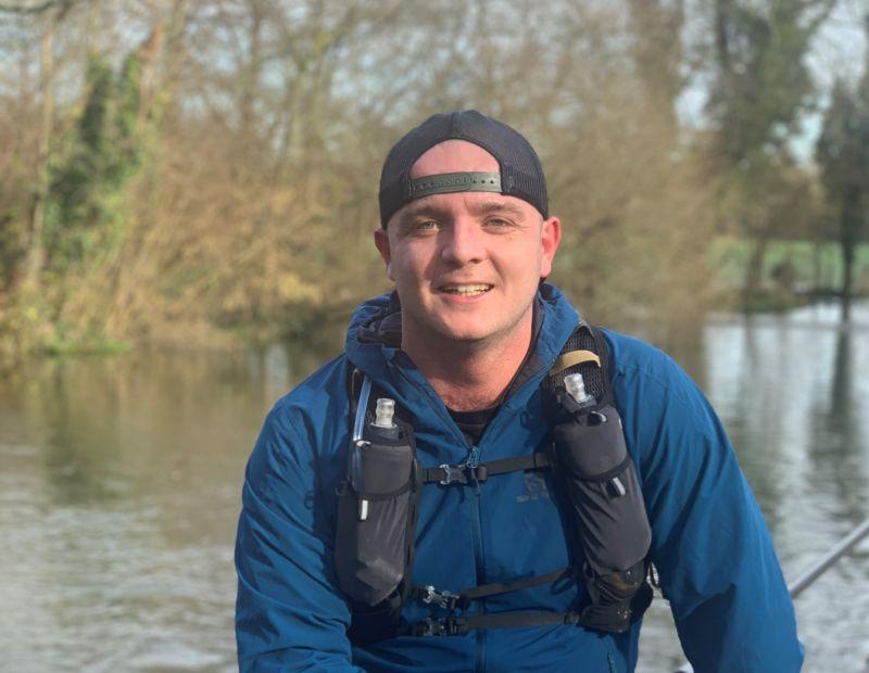 Captain Tom Lane is running 125km in the Highlands for veterans